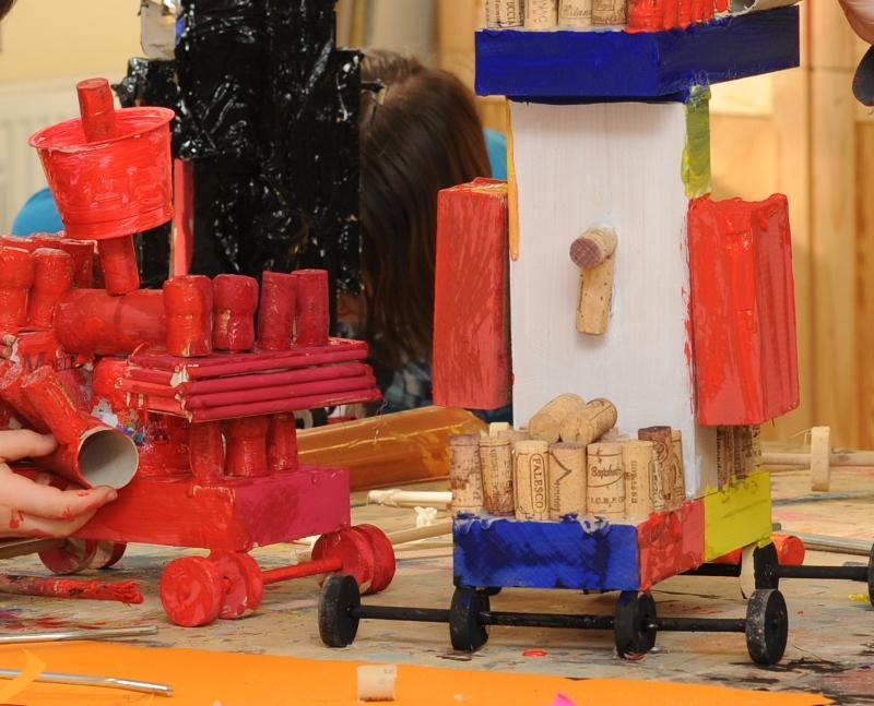 Fahrzeuge aus Recyclingmaterial